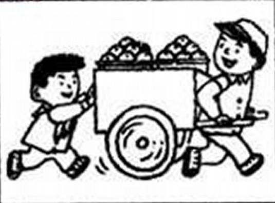 """看图作文:原来如此  星期天的早晨,天气晴朗,艳阳高照。小明和小刚在路边玩耍,忽然,他们看到一辆满载货物的机动三轮车行驶过来。小明和小刚一见,便飞快地追上三轮车,两手扒住后车帮,向上爬。这时,在人行道上行走的小东看到了这一幕,便追了上去,他一边跑,一边大声地喊:""""别往上爬了,快下来,危险!"""" 小明和小刚听到了喊声,很不情愿地从车上跳了下来,他们俩来到小东身边,对小东说: """"这关你什么事,没看到我们玩得正高兴吗?好事都被你给搅了。"""" """"你们这样做是"""